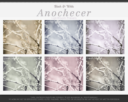 LightRoom Presets - Anochecer by enhancers