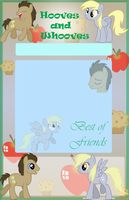 Hooves and Whooves Journal Skin by Marcleine