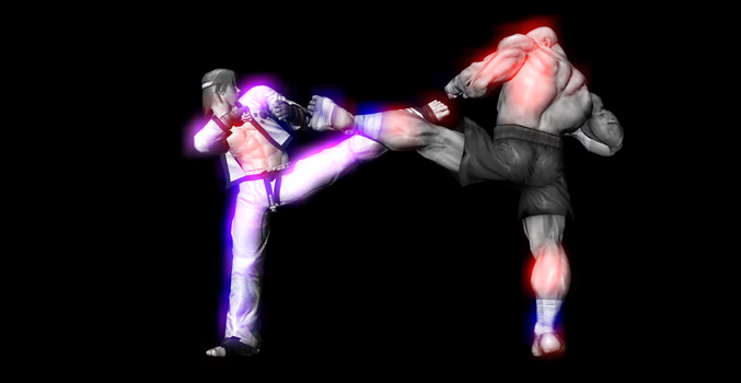 Street Fighter X Tekken [Different look] by AweSSoMe