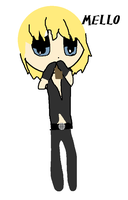 Mello that Chocolate Loving Cutie! ^^ ::RQ:: by xX-Ninja-Pikachu-Xx