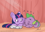 MLP - Story Time by caycowa