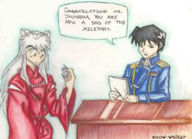 Inuyasha's Pocket Watch by snow-walker