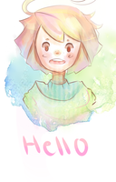 Hello my darling by Eloquent-Phony