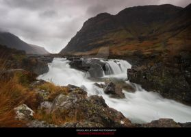 Running Through Glencoe by DL-Photography