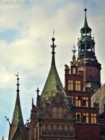 Towers of the Town Hall by COREnick