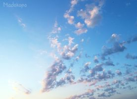 Fuzzy clouds by Madokopo