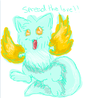 Spread the love? XD by ninelivestwice
