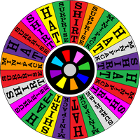 Wheel of Fortune Audition Wheel 2001 by germanname