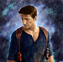Uncharted - Nathan Drake by p1xer