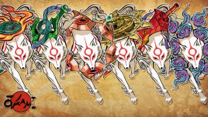 Okami Amaterasu PSD Pack by uLtRaMa6nEt1cART