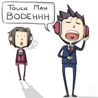 Touch Mah Bodeh by fireproofmarshmallow