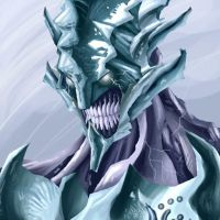 Ice Elemental Sketchdoodle 1.0 by edcomics