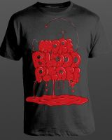 More Blood Please Tee by andreasleonidou