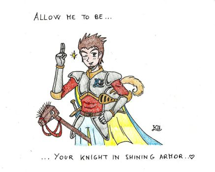 S. Valentine 2016 - I'll be your knight... by KingNanamine87