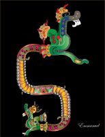 MAYAN SERPENT by Emmanuel-Hdez