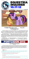 Equestria Inquirer 56 by JoeStevensInc
