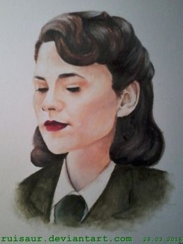 Peggy Carter by ruisaur