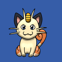 #52 Meowth by SexyCavallone