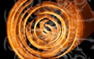 Abstract Fire Wallpaper by Jindra12