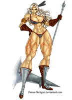 Amazon Dragon's Crown by Osmar-Shotgun