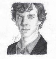 Sherlock Holmes by autumnfeuille