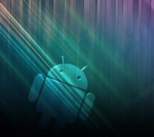 Droid Wallpaper Blessed Blue by joshdill