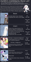 Comission Price List 2014 -open- by pampd