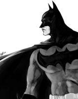 Speed Paint: Batman by steven-donegani