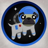Space Dog by EfraLR