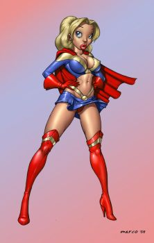 Super Girl not Supergirl by Dominic-Marco
