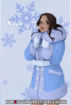 Naya with coat by StyloideIllustration