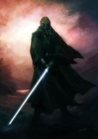 Jedi Knight by weaselpa
