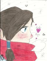 The Red Scarf by smilinglightly