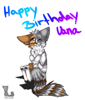Happy Birthday Vana C: by Sorasongz
