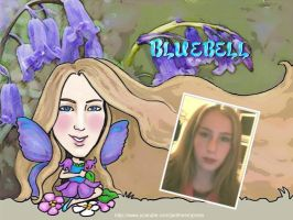 Caricature of Bluebell by jantheempress