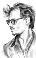 Johnny Depp by untroubledheart