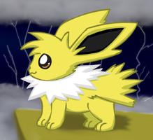 Jolteon Chibified by pichu90