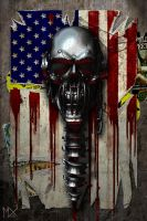 METAL Rattlehead by mx