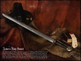 Legendary Weapons: Astor's Holy Sword by Hellwolve