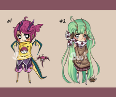 Cute Monster Adopts #1 - CLOSED! by BeesHoneypot