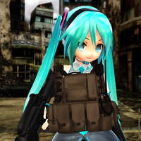 MMD Tactical Miku by Trackdancer