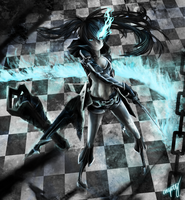 Black Rock Shooter by 00-empty-00