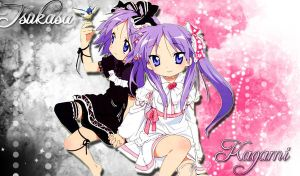 Lucky Star Wallpaper by Kyou-Usagi
