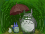 Totoro's forest by kGoggles