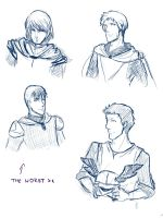 Cahir sketches by ankalime