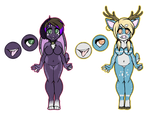 Anthro Adopts [CLOSED] by SNlCKERS