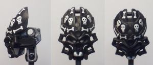 Spooky Scary Skull Spiders by ModaltMasks