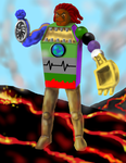 Recycle Planet Standing by Stephen Auman by DEVIOUS-DISCORD-RP