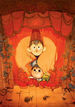 OTGF Zine Wirt and Greg by Barukurii