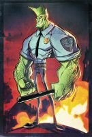 Savage Dragon by RobDuenas